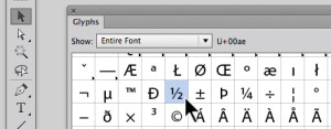 How to Type Fractions in Illustrator